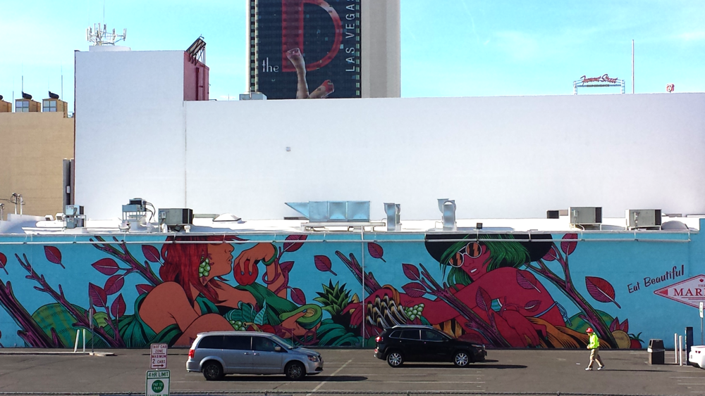 Downtown Las Vegas mural