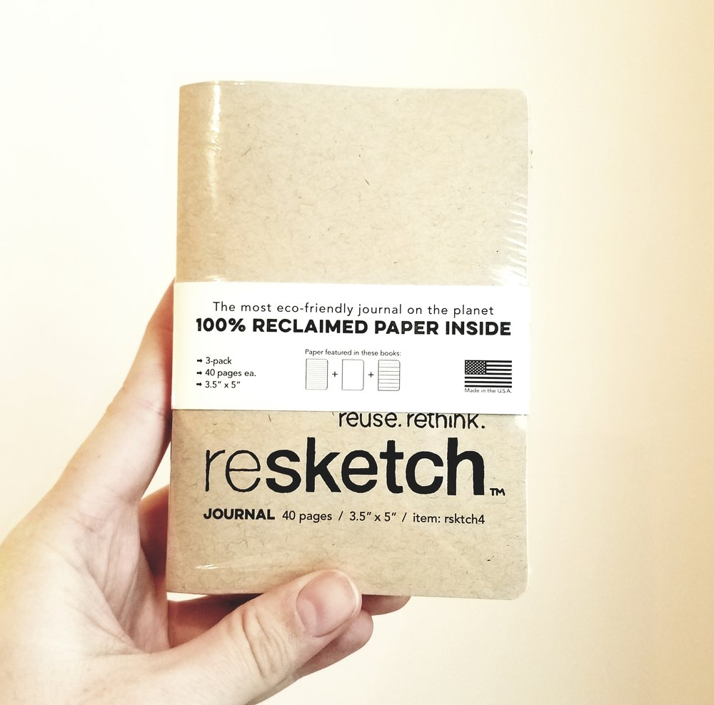 My resketch kickstarter award