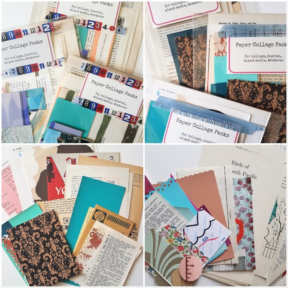 Collage Paper Packs