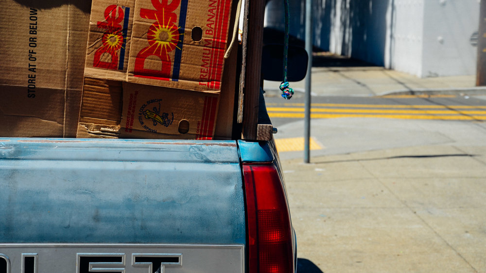 Cardboard Chevrolet