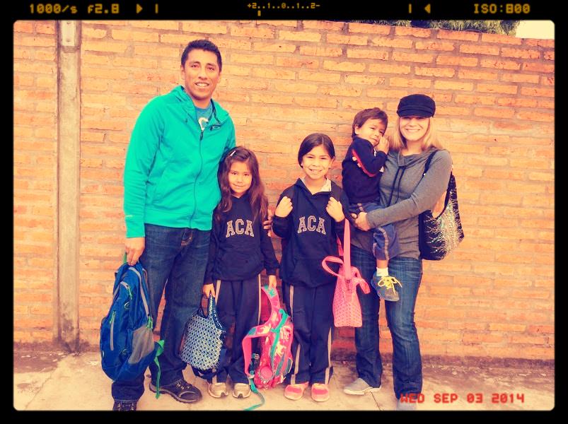 Carlos, Lily, Carly, Elia, & Lucas Saavadra
