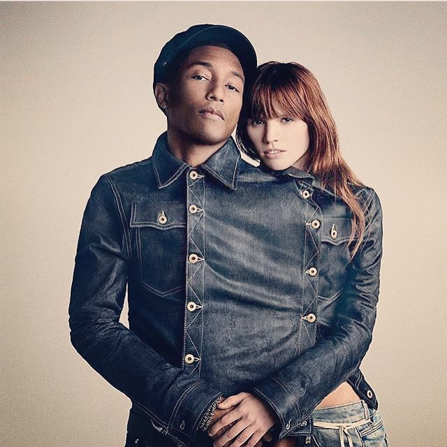 Pharrell announced as co-owner of G-Star RAW.  This is great news for the company and fashion.  #pharrell #gstar #denim #popculture #fashion