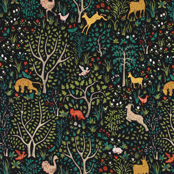 How beautiful is this forest fabric sold through  DwellStudio  !?!