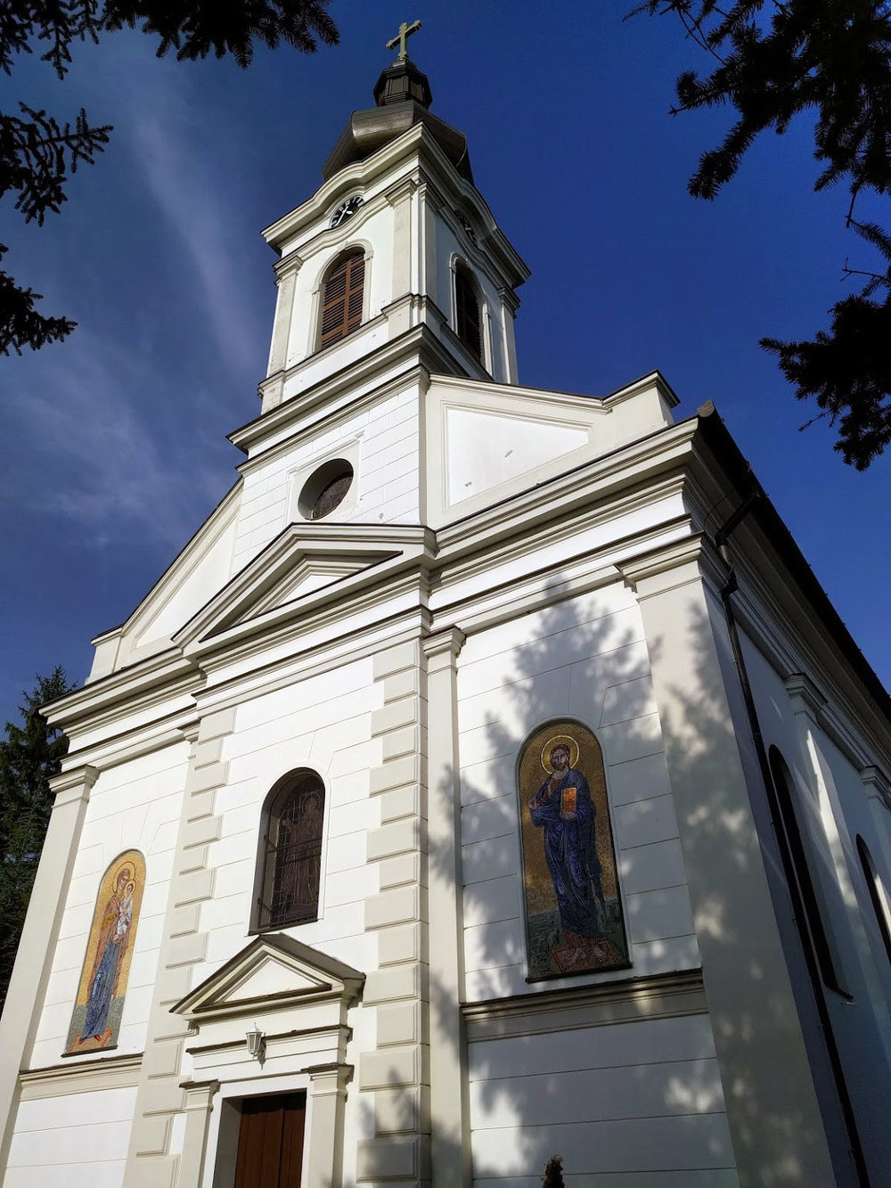 Church of Virgin Mary's Birth in Djurdjevo, Serbia