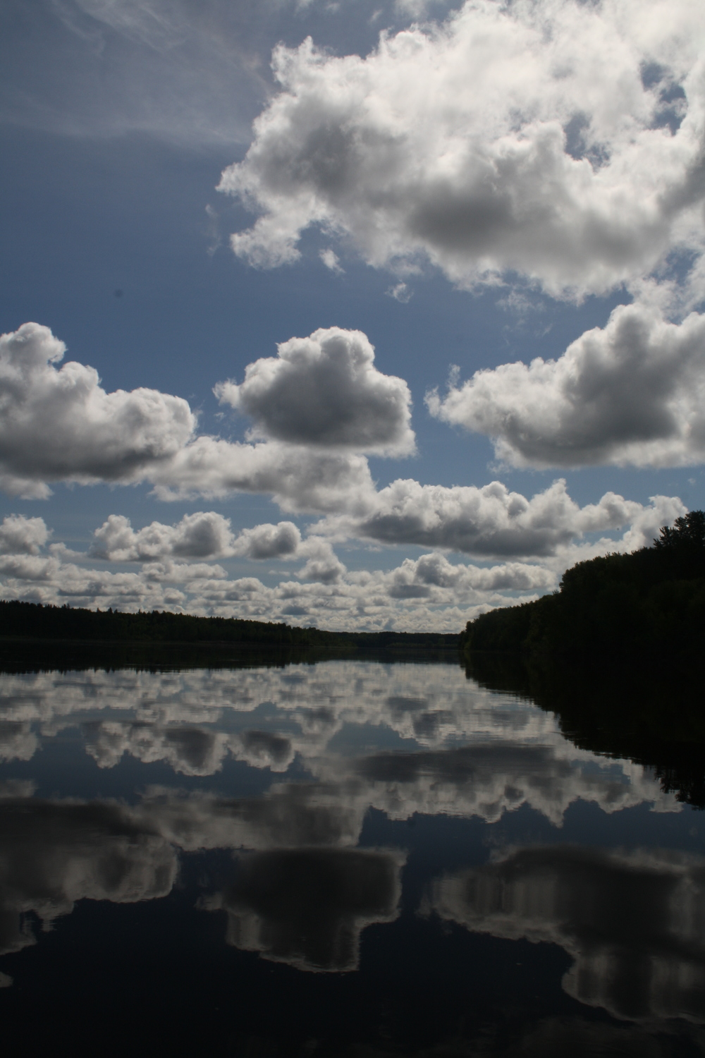 Blue Cloud Reflections