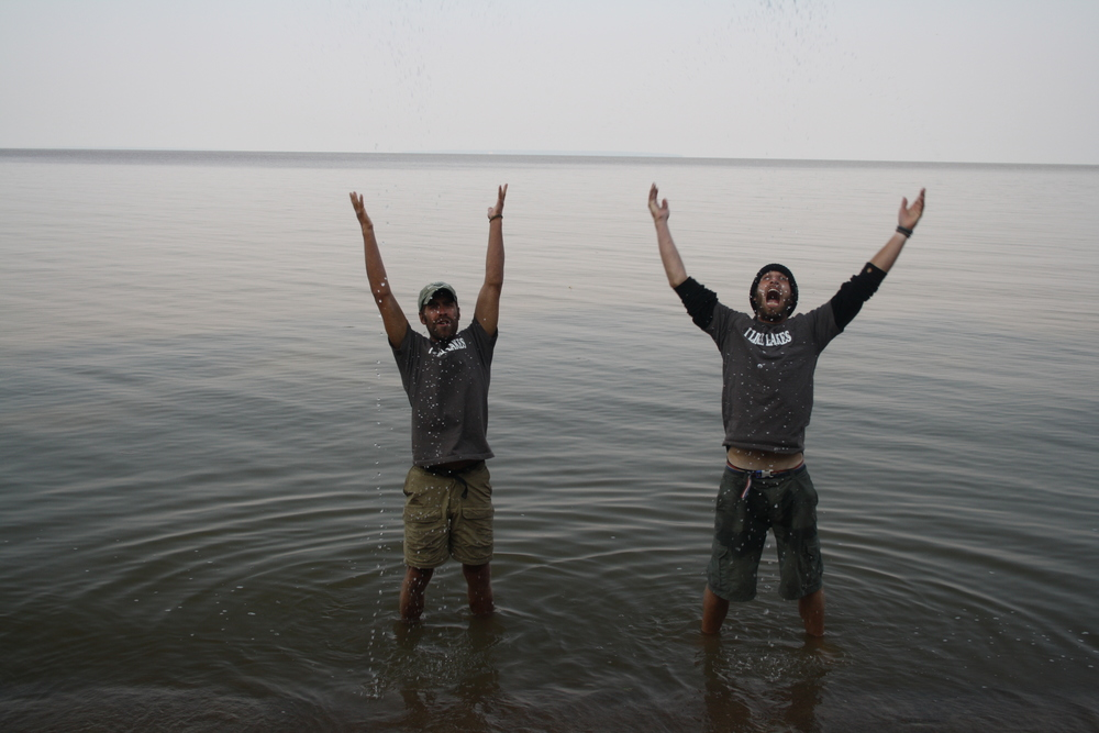 Last Day on Lake Winnipeg