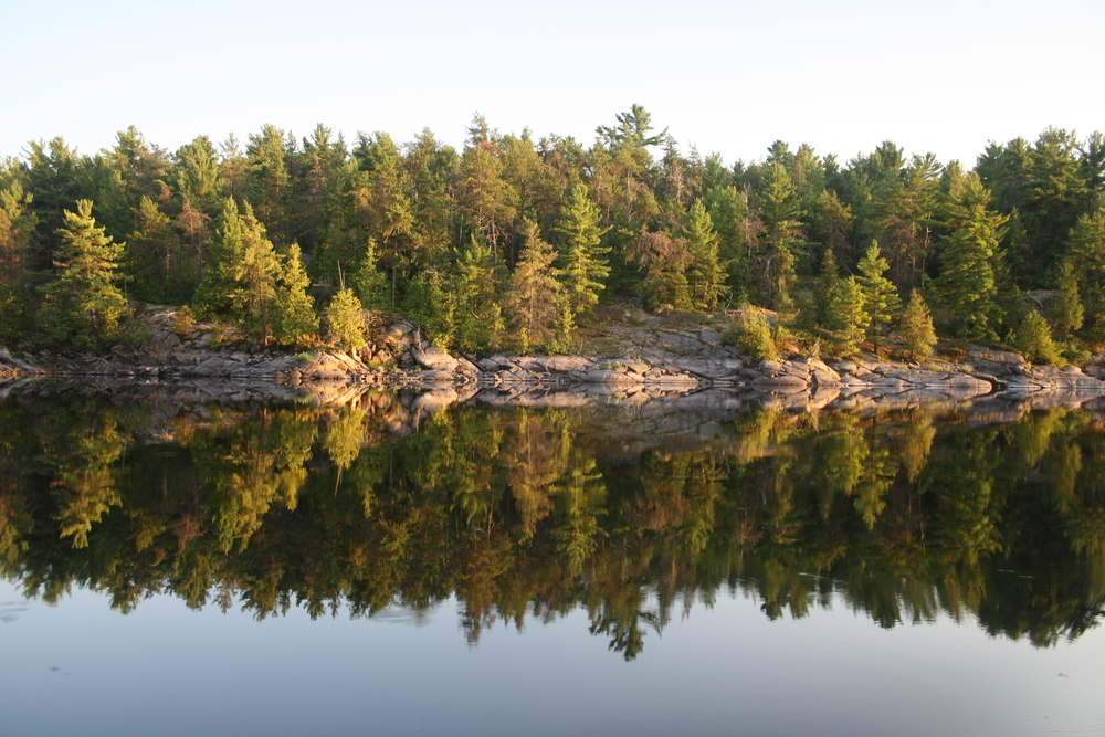 French River, a time to reflect