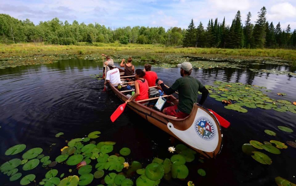 La Vase- historic voyageur canoe route