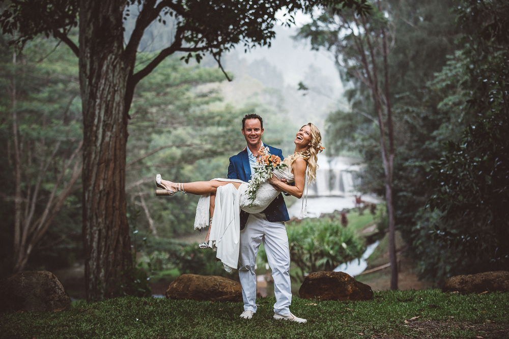 Dani & Cash, Kilauea Wedding