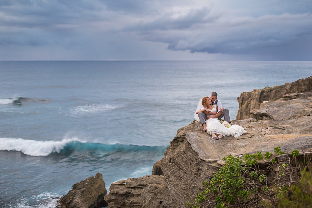 Sara & Chad, Poipu Wedding