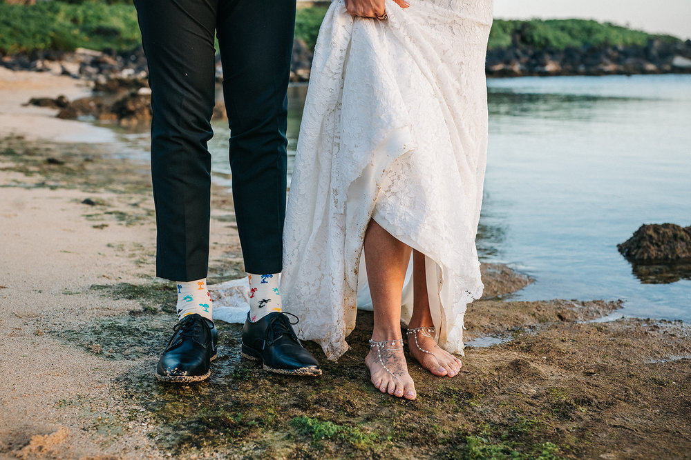 Rebecca & Jeffrey, Poipu estate wedding