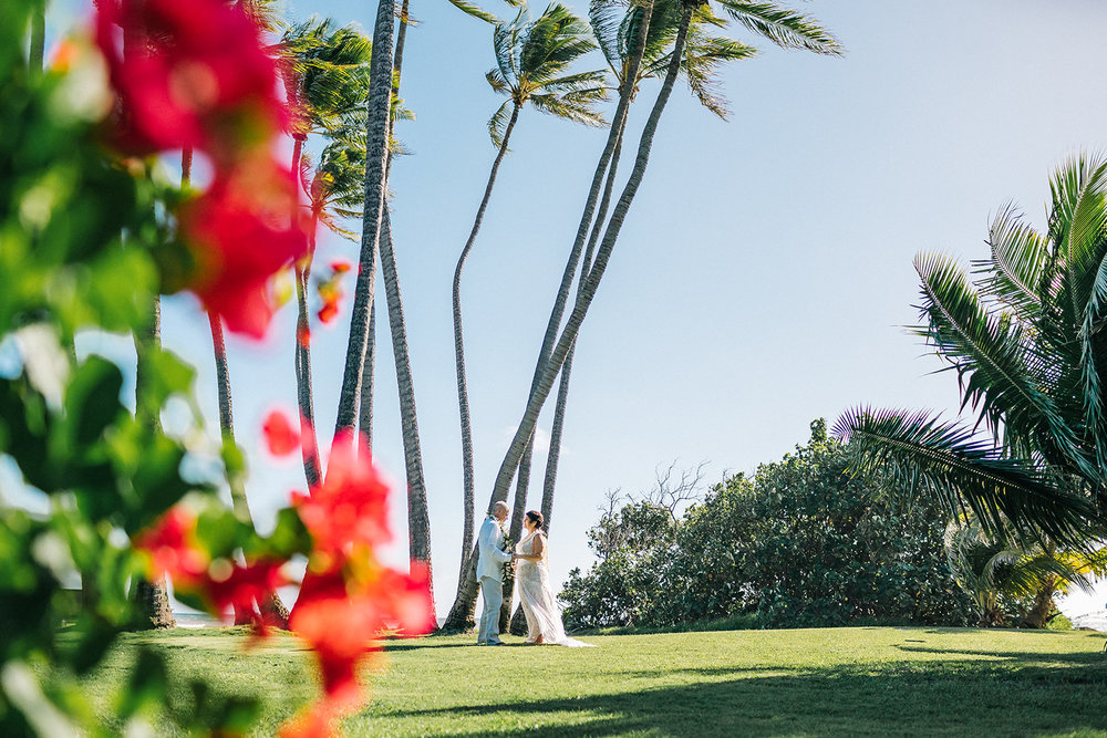 Amber & Bob, Kekaha Estate wedding