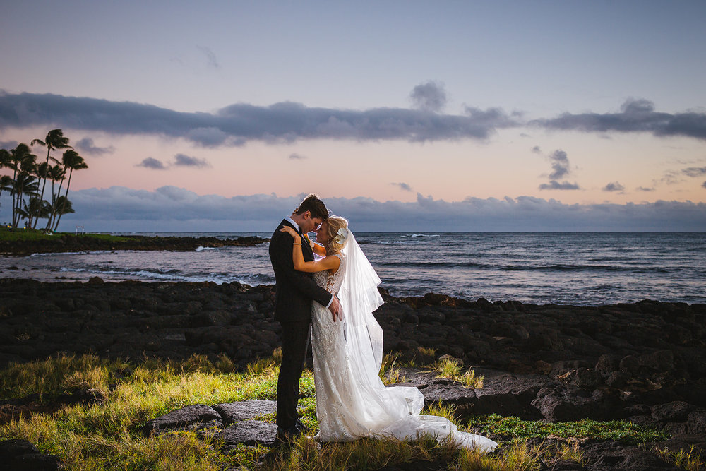 Gabriella & Eric, Poipu wedding