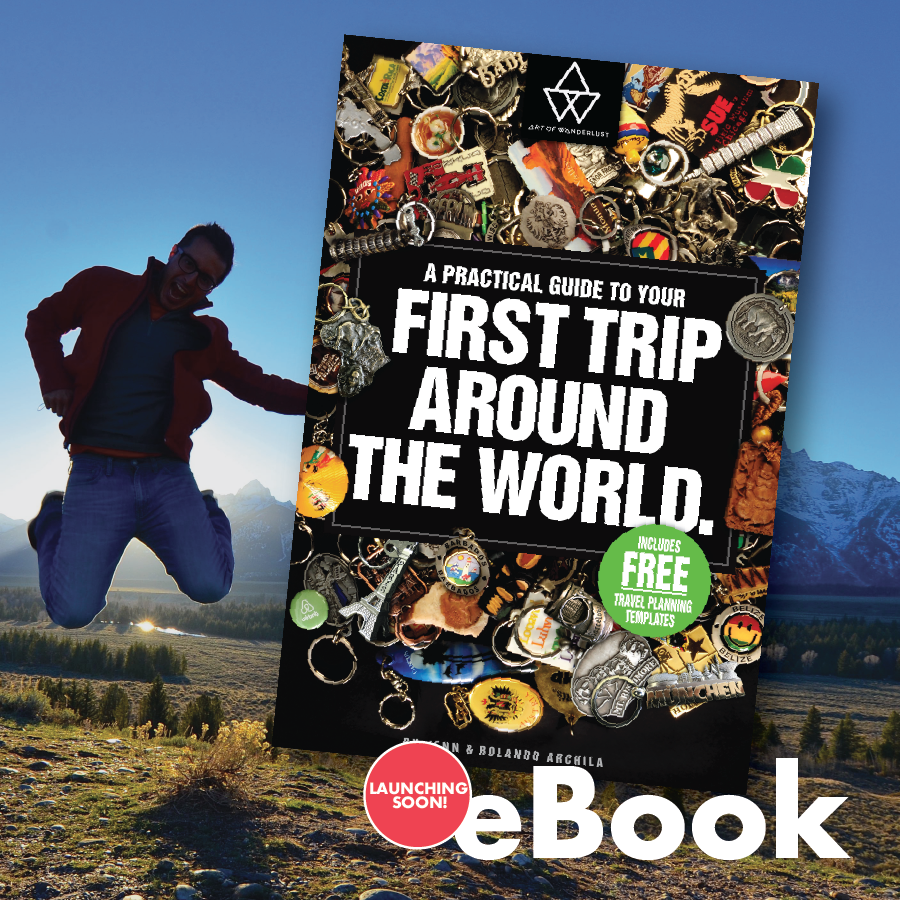 Our FREE eBOOK provides a step-by-step process for planning your first trip around the world! - Launching Soon!