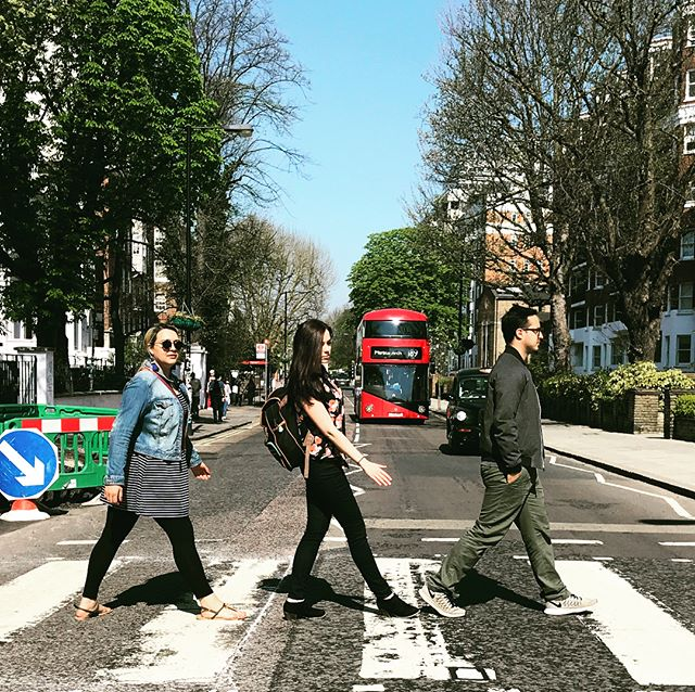 📍Abbey Road, London  #jenntriedtolooknatural #abbeyroad #thebeatles #london #england