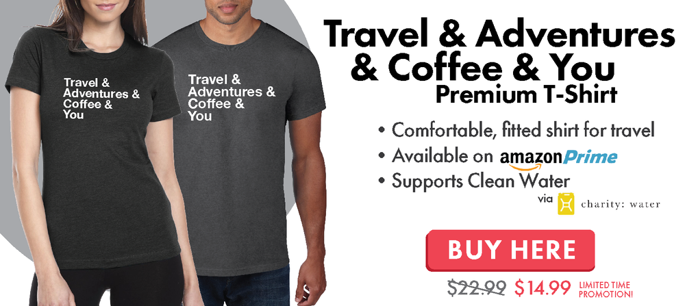 Travel & Adventures & Coffee & You