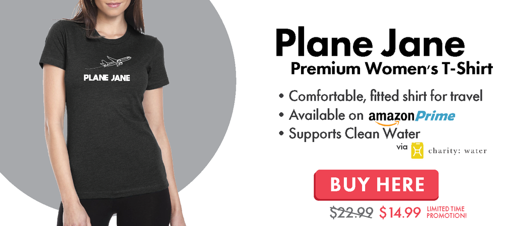 Plane Jane Travel T-Shirt