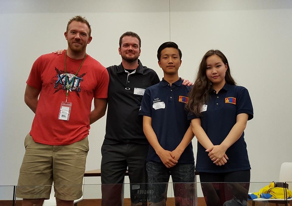 Top 3 finalists: 1. Simon Reinhard 2. Purevjav Erdenesaikhan 3. Tsetsegzul Zorigtbaatar