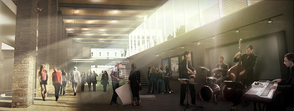 Tyndale University- Atrium Lobby