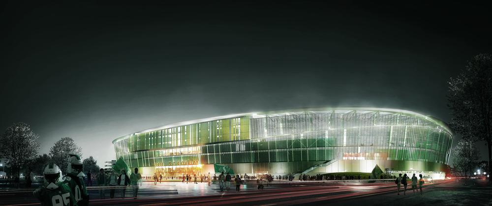 Luxigon x NBBJ Roughriders Stadium