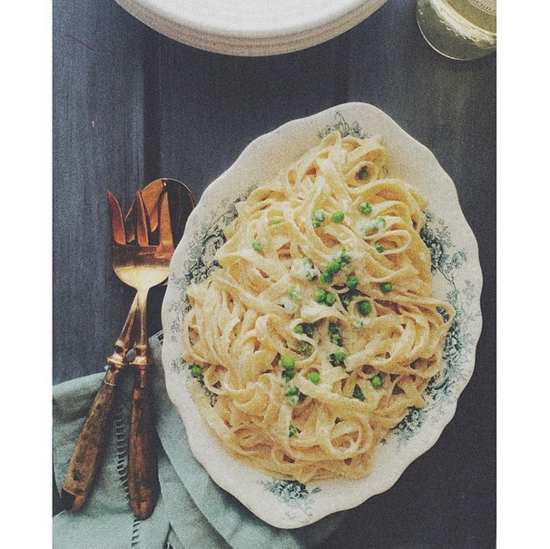 Fettuccine Alfredo from my shoot.