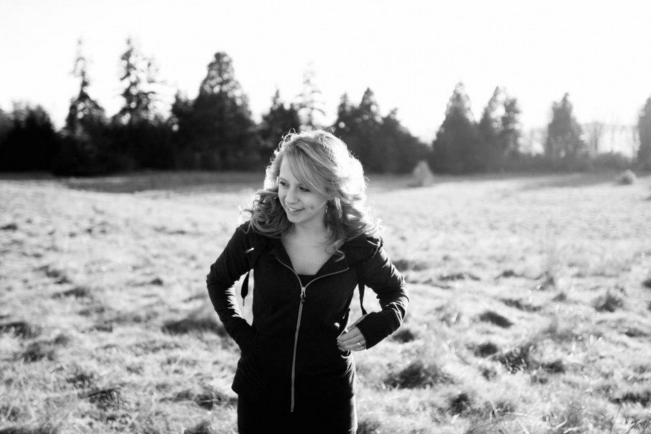 A portrait shoot at Discovery Park in Seattle.