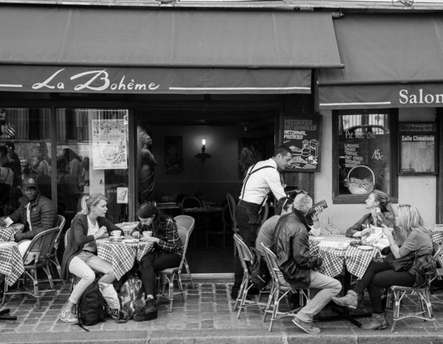 Bistro in Montmartre