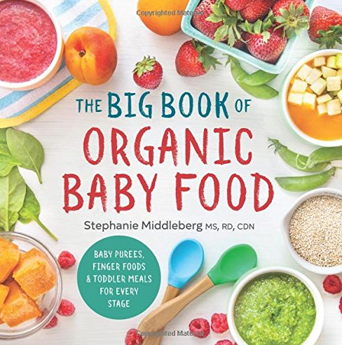 Front Cover of The Big Book of Organic Baby Food. © Sonoma Press.