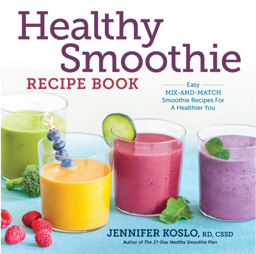 Healthy Smoothie Recipe Book Cover. © Rockridge Press
