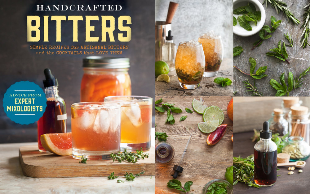 Handcrafted Bitters Book by Shannon Douglas Photographer