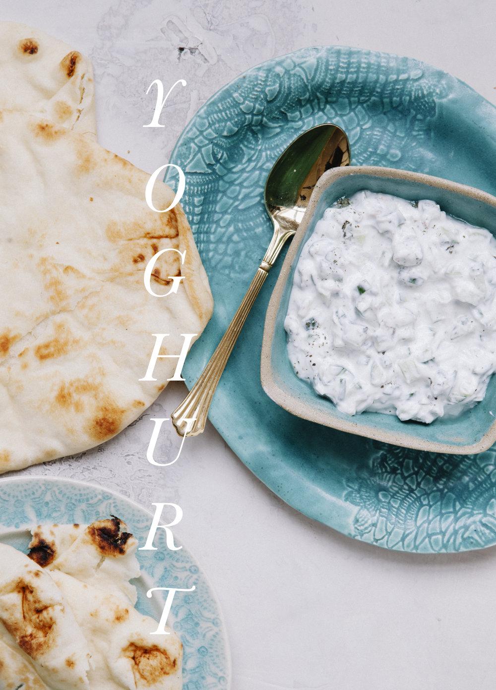 Yoghurt for Honest Magazine by © Shannon Douglas