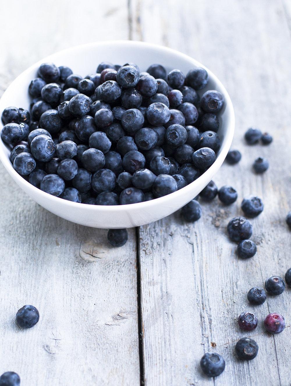 Blueberries for Honest Magazine © Shannon Douglas
