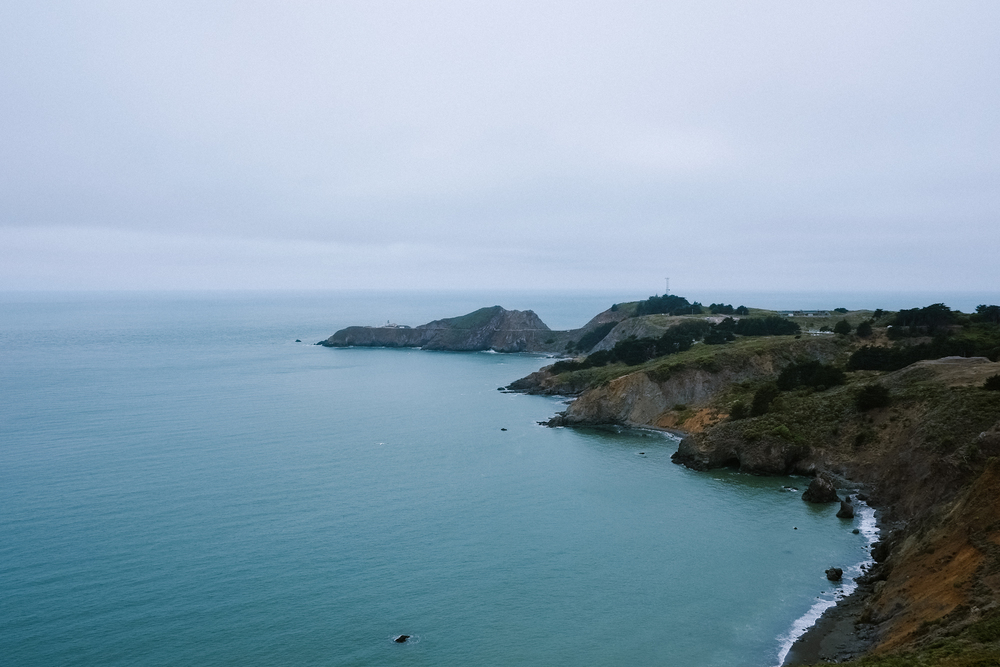 Point Bonita Lighthouse (way out there on the tip)