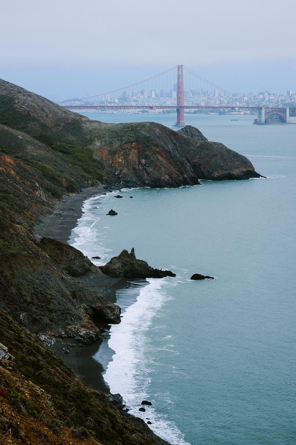 San Francisco from Bonita Cove Bunker