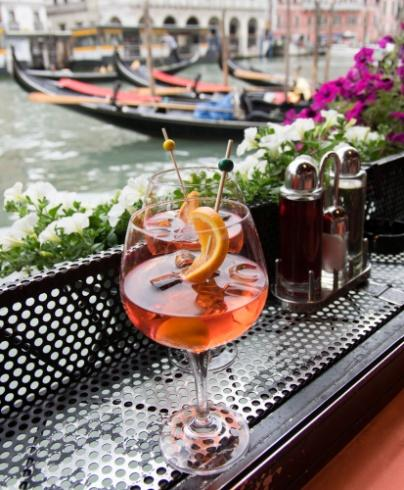 Spritz waiting to be consumed