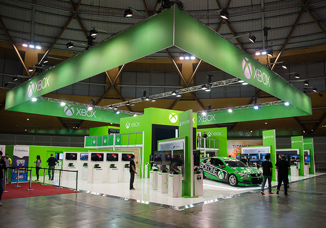 Xbox Stand - EB Expo 2013
