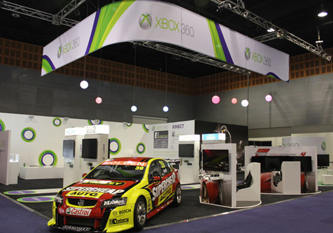 Xbox Stand - EB Expo 2011