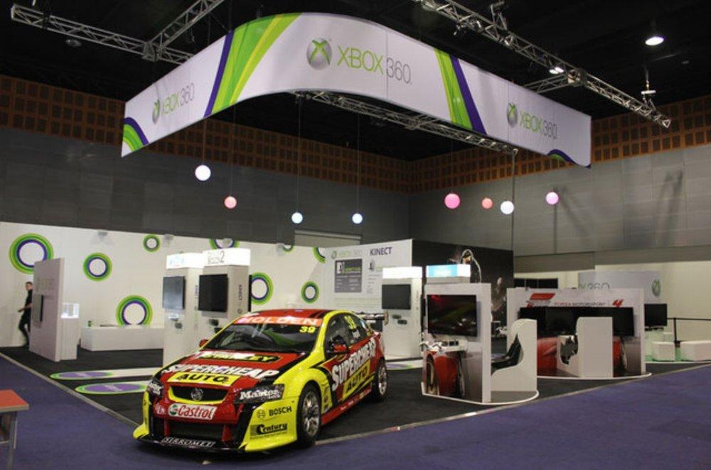 Xbox Booth - EB Expo 2011