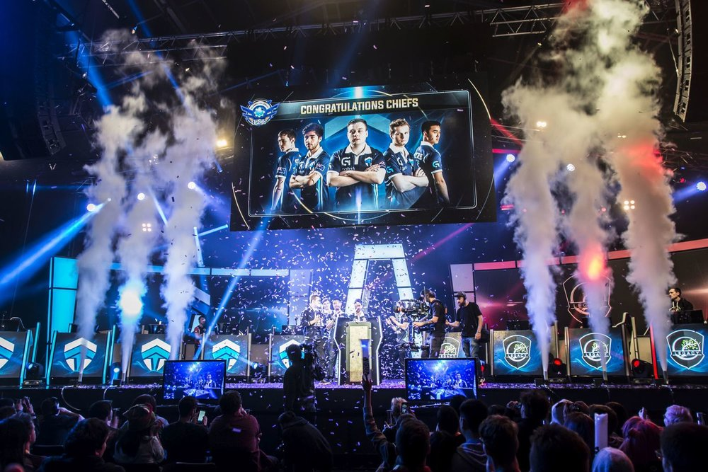 League of Legends 2015 OPL Grand Final