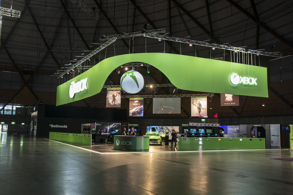 Xbox Booth - 2015