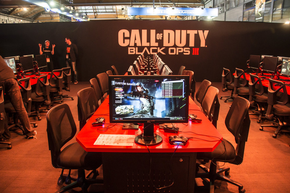Call of Duty: Black Ops III Booth