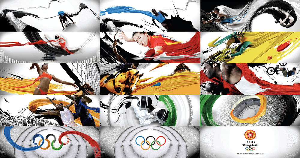 Beijing Olympic Broadcasting. Conceptual Design, Brand Positioning and Implementation. Click to view larger size image.