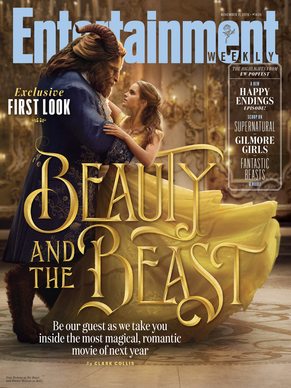 Custom lettering for the cover of Entertainment Weekly