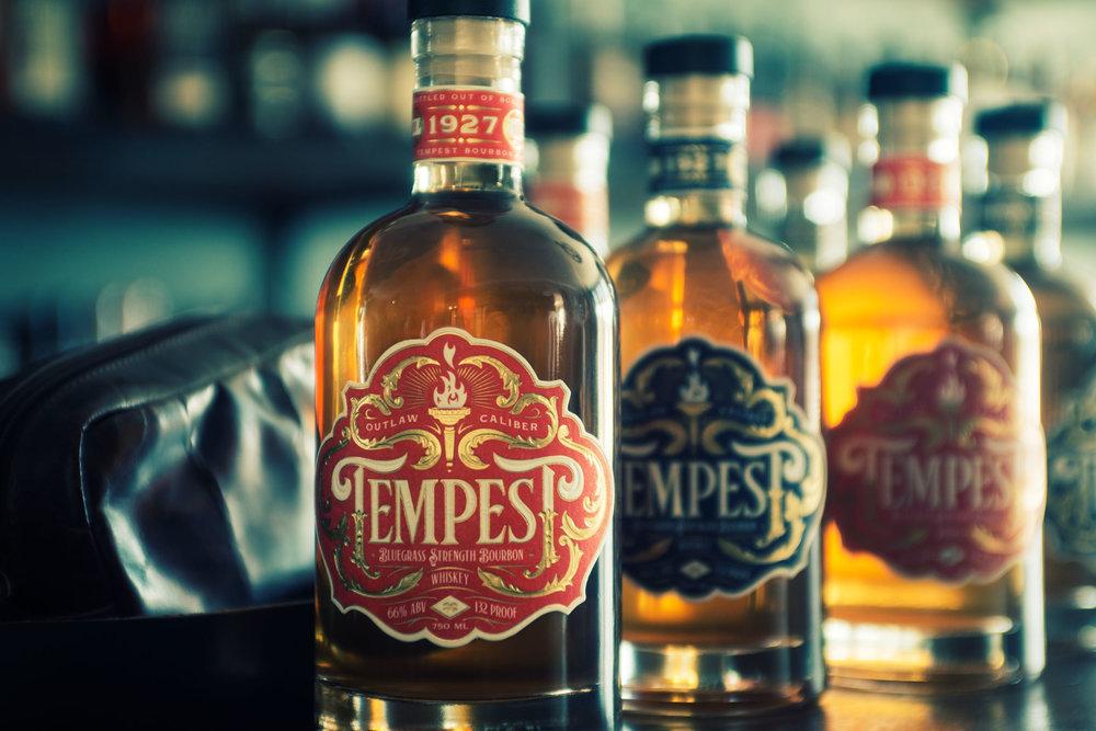 Tempest Label Designs by Jason Carne