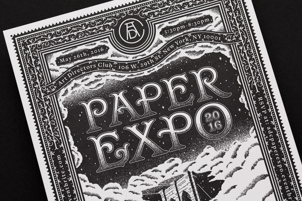 Paper Expo Illustration by Scott Biersack