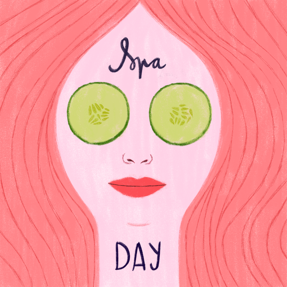 Spa Day by Aura Lewis