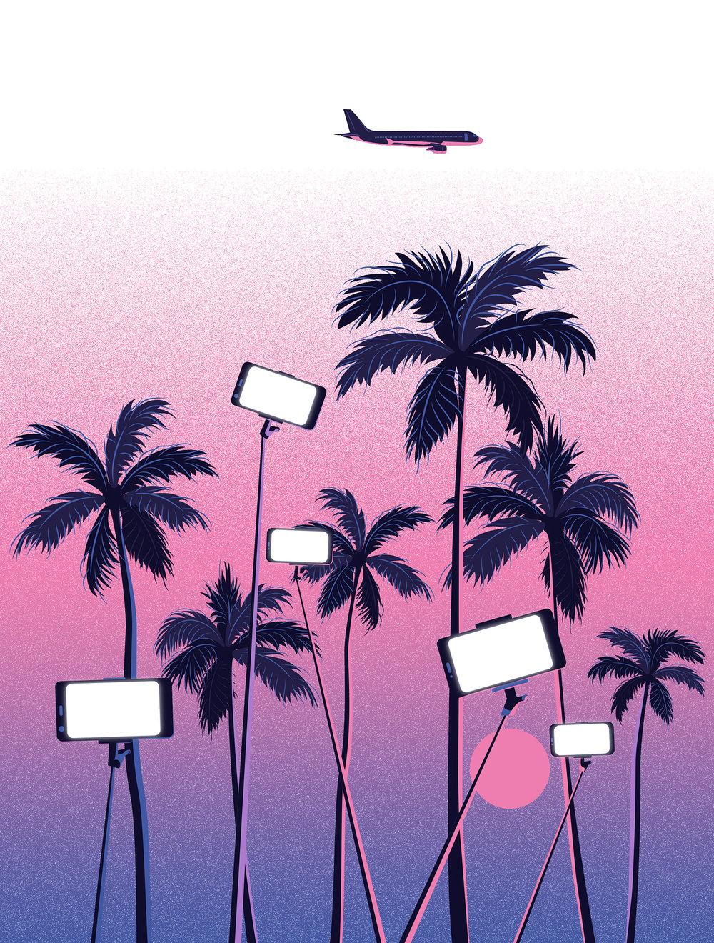 Selfie Sunset by Estudio Santa Rita
