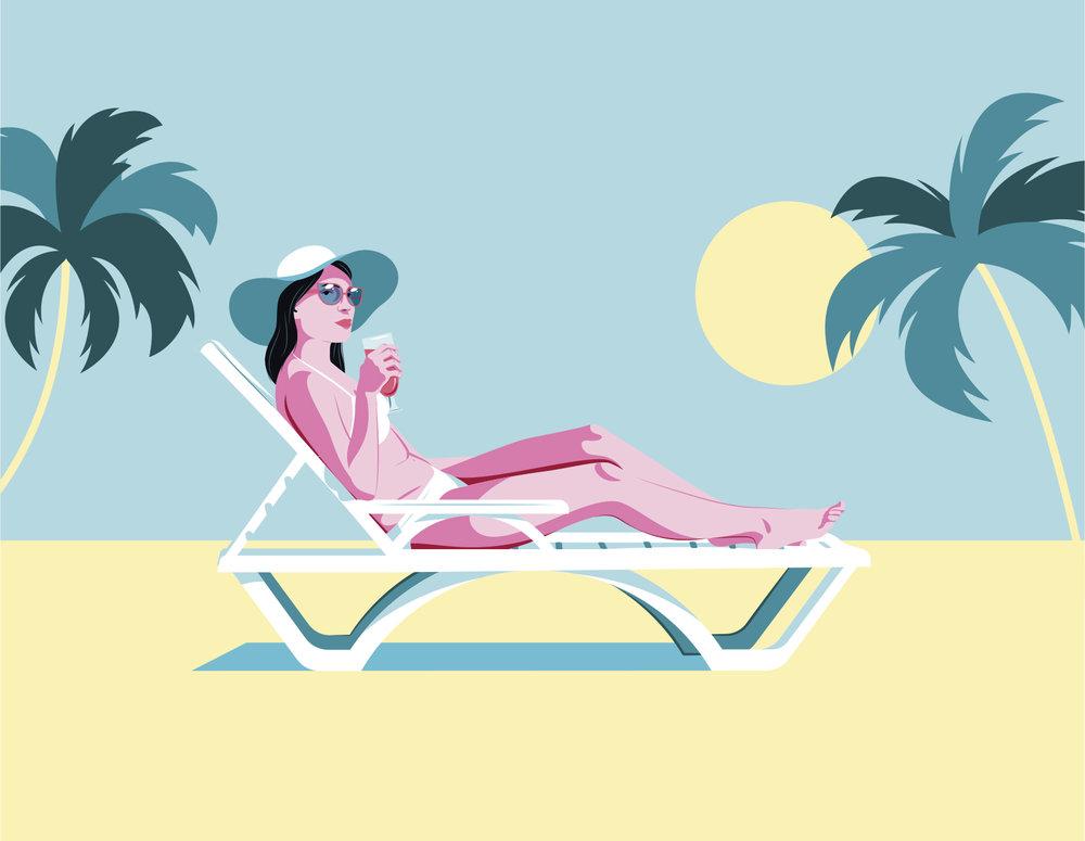 Tropical Vacation by Estudio Santa Rita