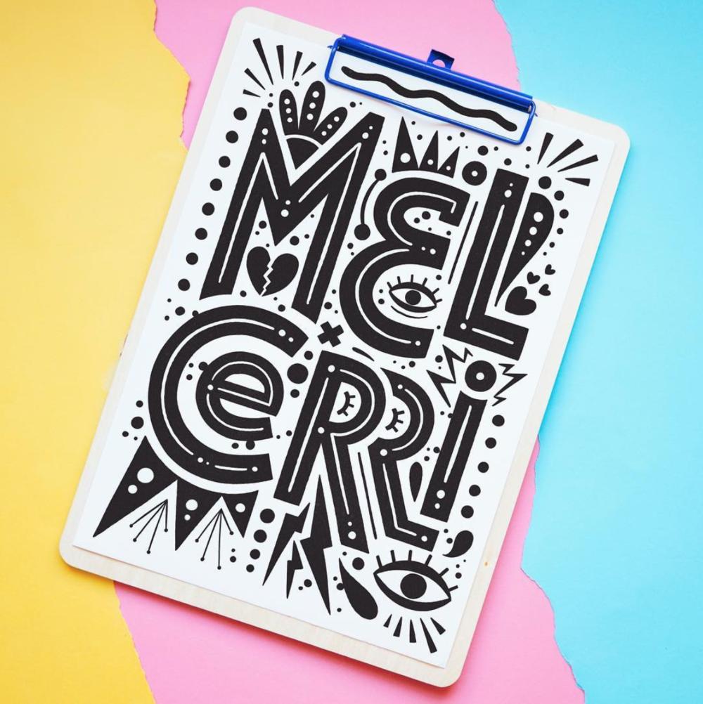 Lettering by Mel Cerri