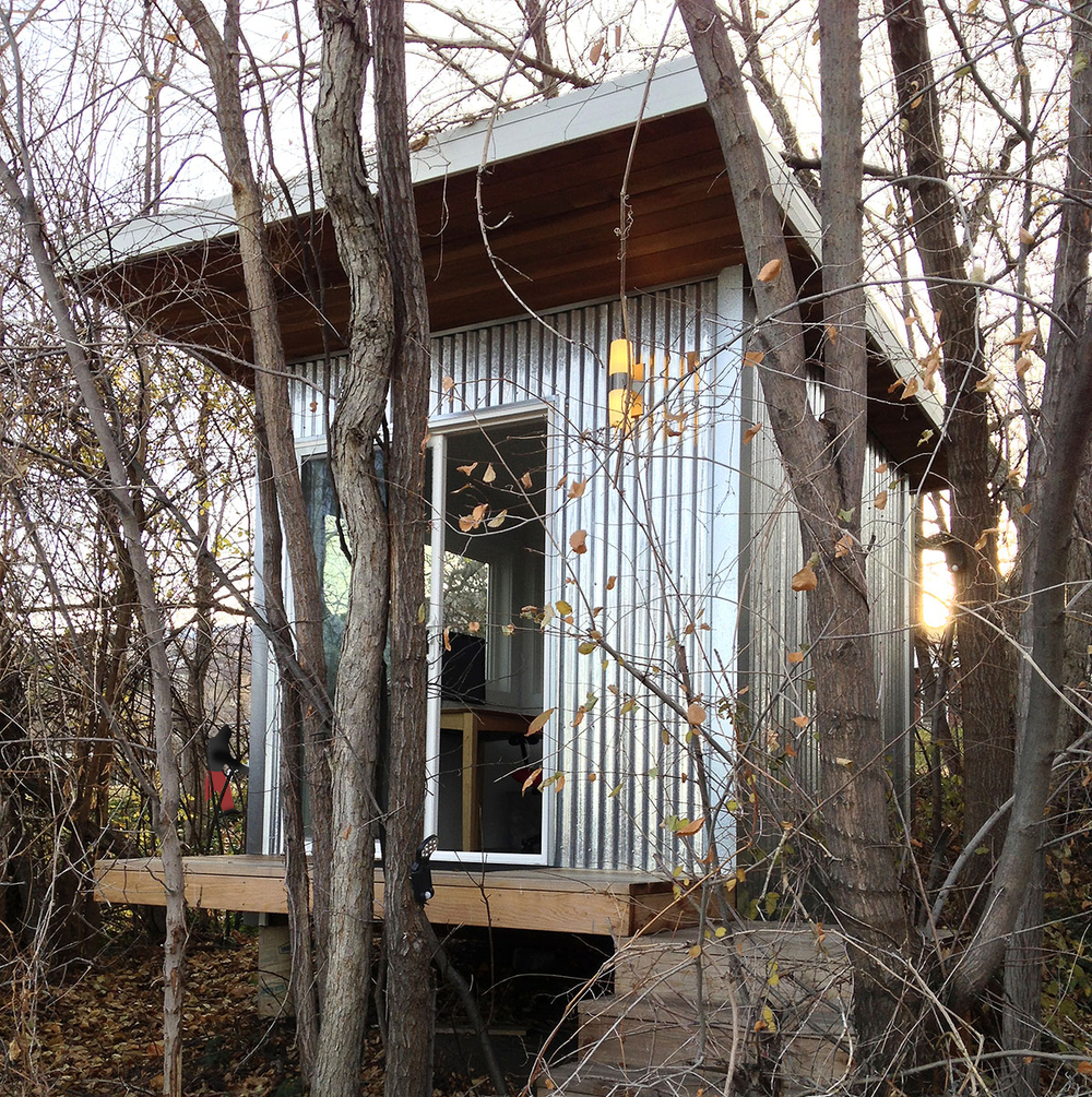 "The ""treehouse"" aka  ""Mysterious Trousers unofficial world headquarters"""